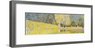 The Schonbrunn Park Detail-Gustav Klimt-Framed Art Print