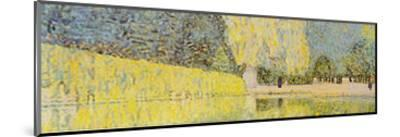 The Schonbrunn Park Detail-Gustav Klimt-Mounted Art Print