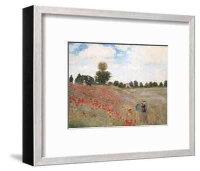 Poppies-Claude Monet-Framed Art Print