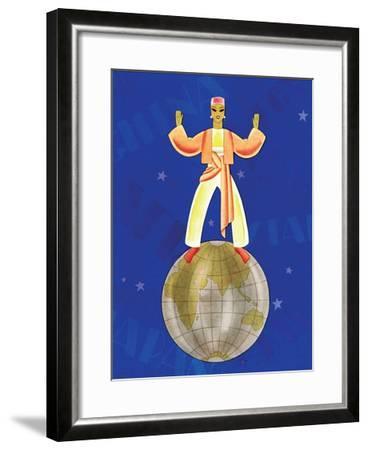 On Top of the World-Frank Mcintosh-Framed Art Print