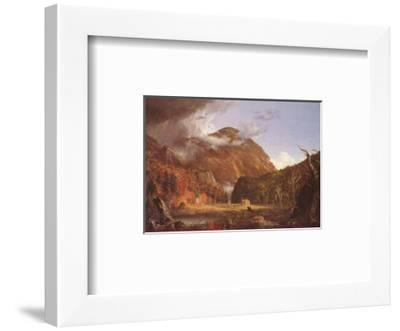 Mountain Pass Called the Notch of the White Mountains-Thomas Cole-Framed Art Print