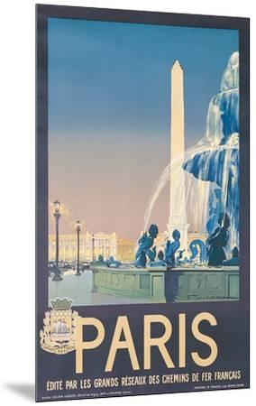 Lacaze Paris--Mounted Art Print