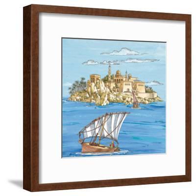 Arabian VI--Framed Art Print