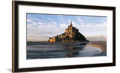 Mont Saint-Michel-Bruno Morandi-Framed Art Print