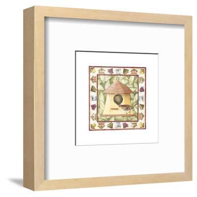 Kids Birdhouses--Framed Art Print