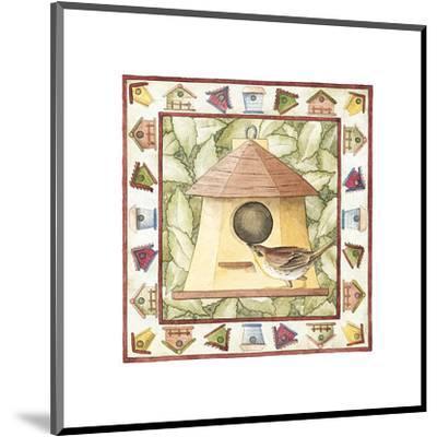 Kids Birdhouses--Mounted Art Print