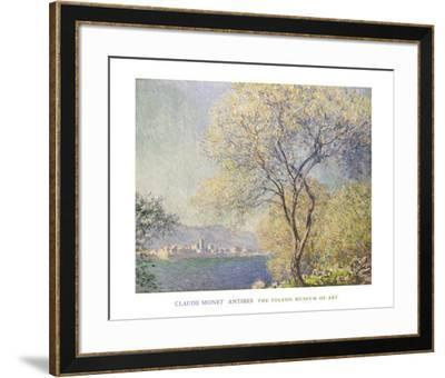 Antibes,, c.1888-Claude Monet-Framed Art Print