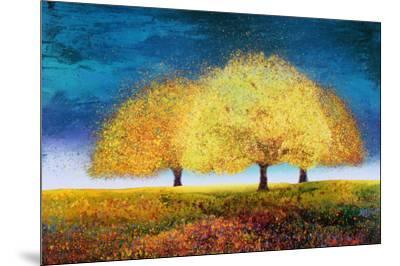 Dreaming Trio-Melissa Graves-Brown-Mounted Art Print