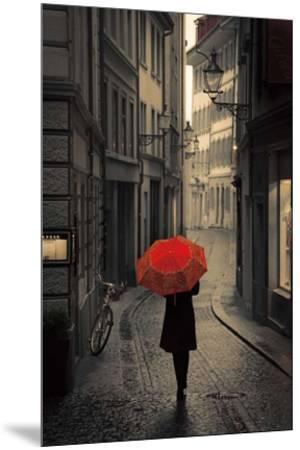 Red Rain-Stefano Corso-Mounted Art Print