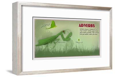 Adverbs-Christopher Rice-Framed Art Print