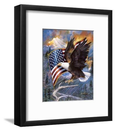 America'S Pride-Ruane Manning-Framed Art Print