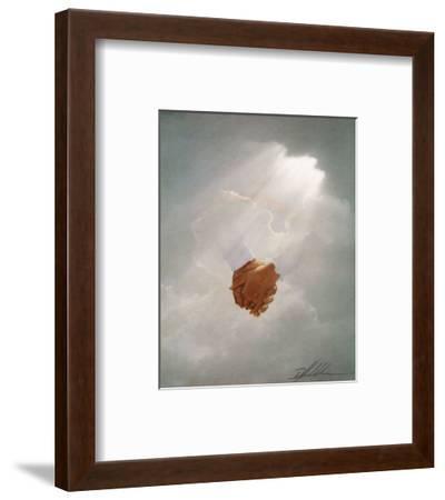 Holding Hands-Danny Hahlbohm-Framed Art Print