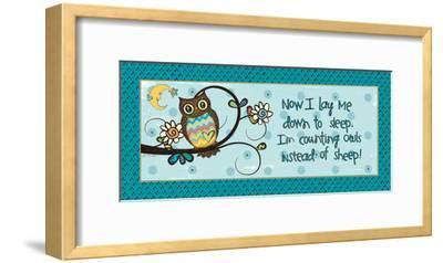 Counting Owls-Jo Moulton-Framed Art Print