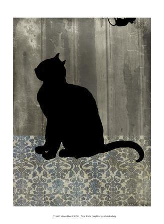 Mouse Hunt II-Alicia Ludwig-Framed Art Print