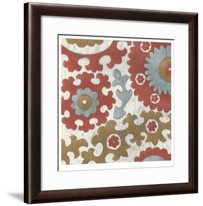 Coral Suzani I-Chariklia Zarris-Framed Limited Edition