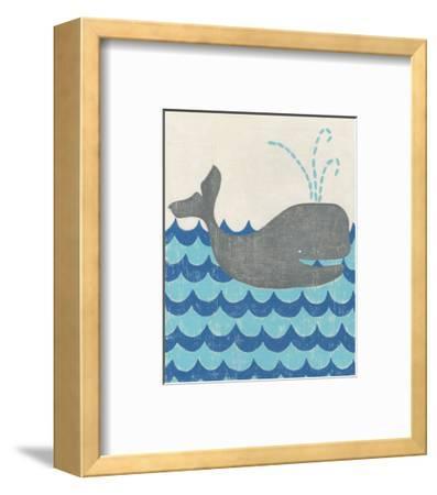 Truman's Voyage III-Chariklia Zarris-Framed Art Print