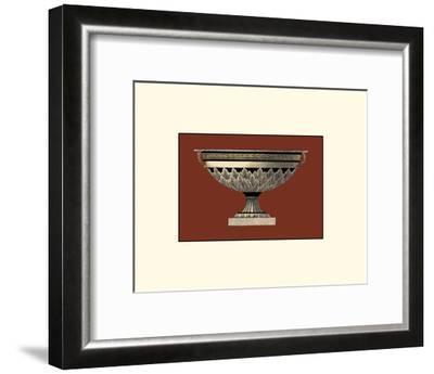 Small Antique Vase III-Da Carlo Antonini-Framed Giclee Print