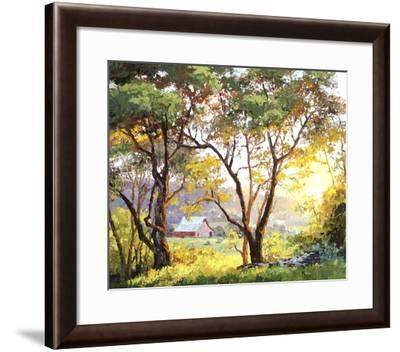 Burnished Landscape-Erin Dertner-Framed Giclee Print