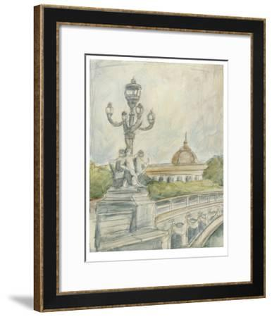 View of Paris IV-Ethan Harper-Framed Limited Edition