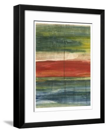Vibrant Abstract II-Ethan Harper-Framed Limited Edition