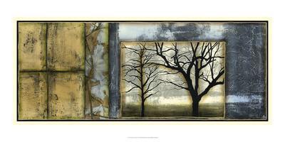 Tandem Trees III-Jennifer Goldberger-Giclee Print