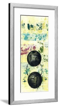 Retro Textures I-Jennifer Goldberger-Framed Giclee Print