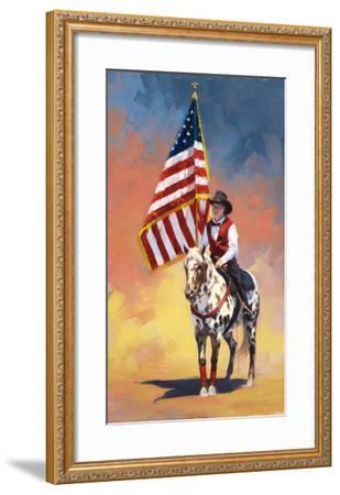 All American-Julie Chapman-Framed Art Print