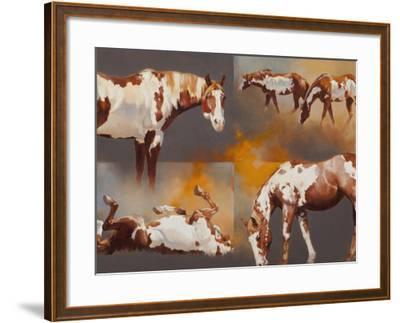 Coats of Paint-Julie Chapman-Framed Art Print