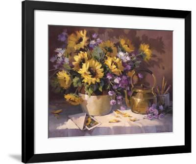 Note to a Friend-Maxine Johnston-Framed Giclee Print