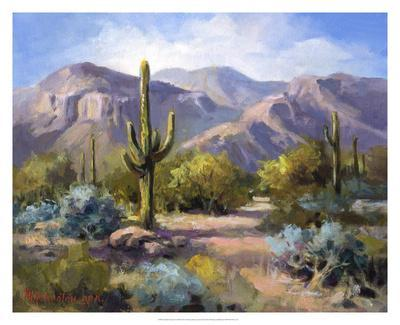 Catalina Mountain Foothills-Maxine Johnston-Giclee Print