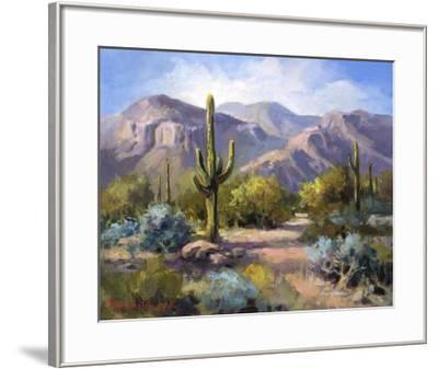 Catalina Mountain Foothills-Maxine Johnston-Framed Giclee Print