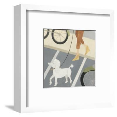 City Dogs II-Megan Meagher-Framed Art Print