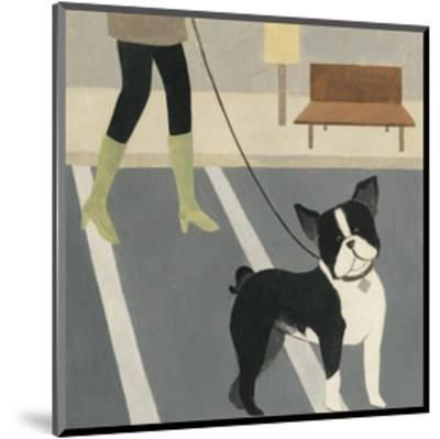 City Dogs III-Megan Meagher-Mounted Art Print