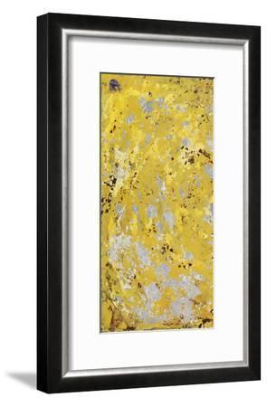 Silvery Yellow I-Natalie Avondet-Framed Art Print