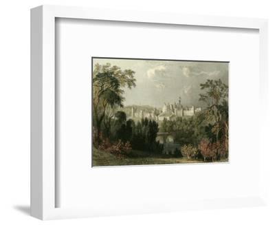 Ainwick Castle-T^ Allom-Framed Art Print
