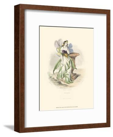 Le Fleur Animé I--Framed Art Print