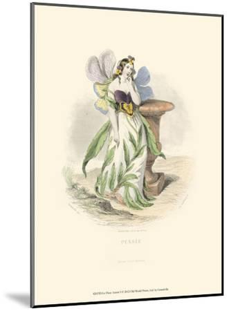 Le Fleur Animé I--Mounted Art Print
