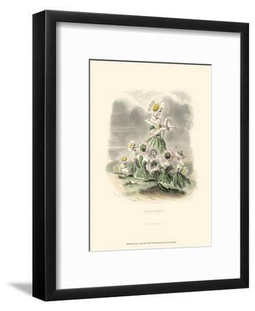 Le Fleur Animé III--Framed Art Print