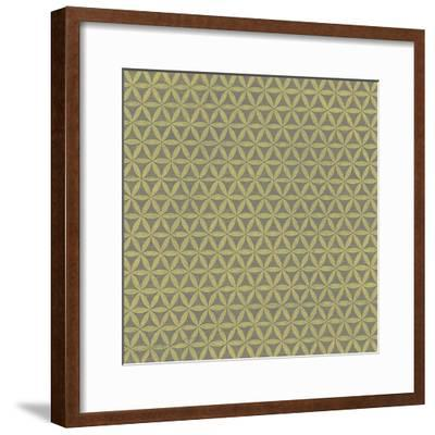 Graphic Pattern I--Framed Giclee Print