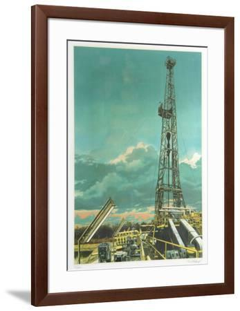 Oil Well-Tom Blackwell-Framed Limited Edition