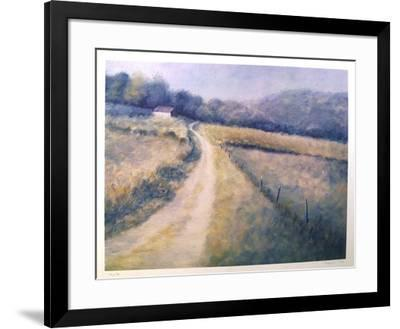 Untitled (Farm Lane)-David Cain-Framed Collectable Print