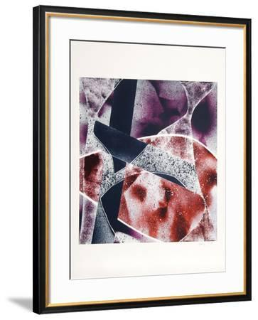Untitled-Steve Conley-Framed Serigraph