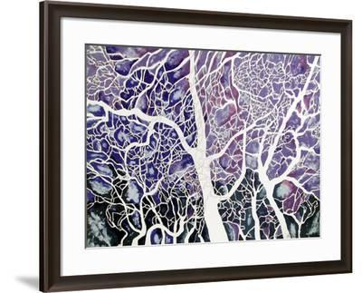 Trees of Washington Square no. 3-Richard C. Karwoski-Framed Limited Edition