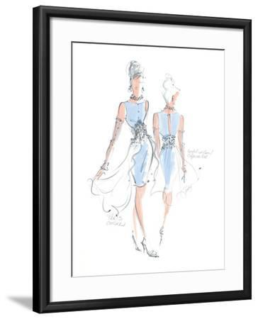 Haute Couture III-Jane Hartley-Framed Art Print