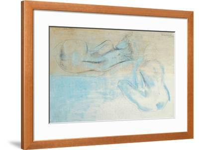 Two Figures by the Sea-Barbara Hepworth-Framed Art Print