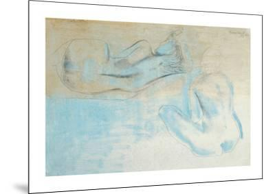 Two Figures by the Sea-Barbara Hepworth-Mounted Art Print