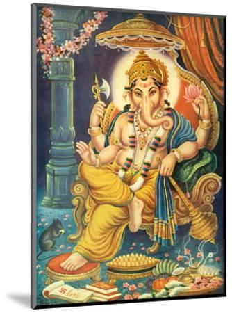Lord Ganesha--Mounted Art Print