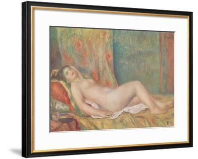 Reclining Nude-Pierre-Auguste Renoir-Framed Collectable Print