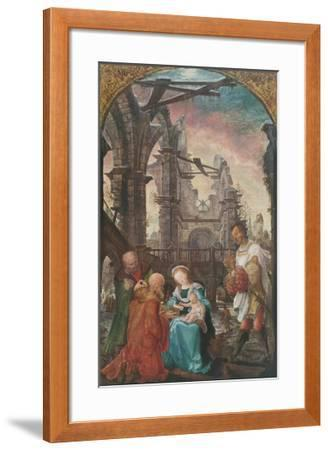 The Adoration of the Kings-Wolf Huber-Framed Collectable Print
