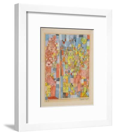 Dogmatic Composition-Paul Klee-Framed Collectable Print